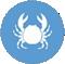 Contiene crustáceos