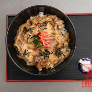 Buta-don o Butadon en Potemkin Sushi Bar