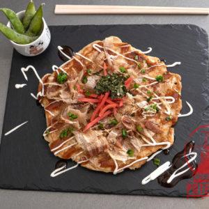 Okonomiyaki en Potemkin Sushi Bar